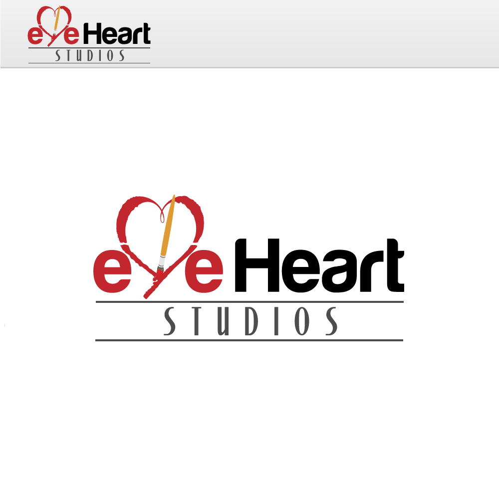 Logo Design by rockin - Entry No. 13 in the Logo Design Contest Unique Logo Design Wanted for Eye Heart Studios.