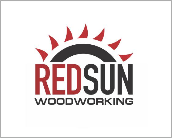 Logo Design by ronny - Entry No. 139 in the Logo Design Contest Red Sun Woodworking Logo Design.