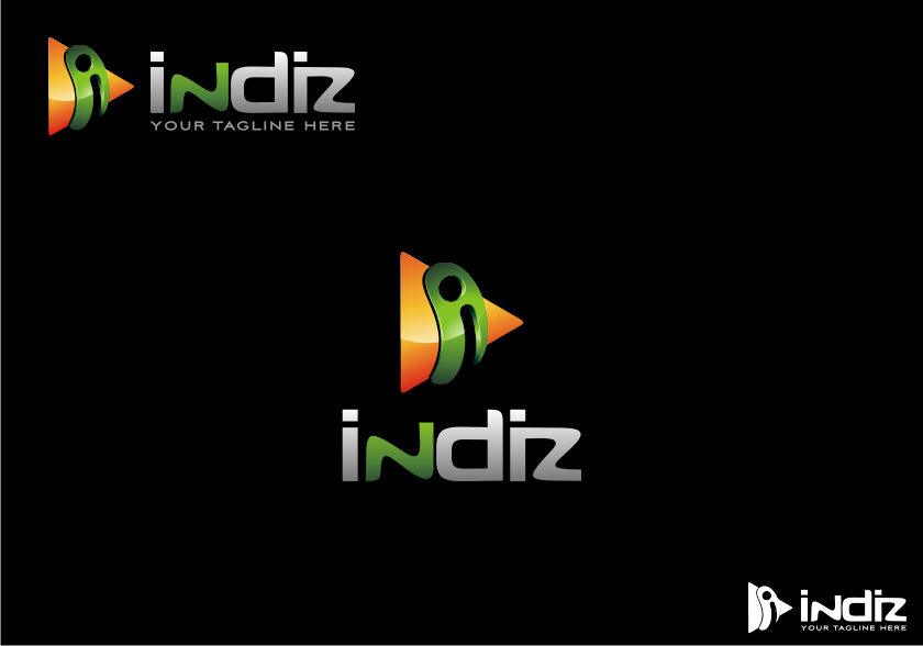 Logo Design by graphicleaf - Entry No. 286 in the Logo Design Contest Fun Logo Design for Indiz.