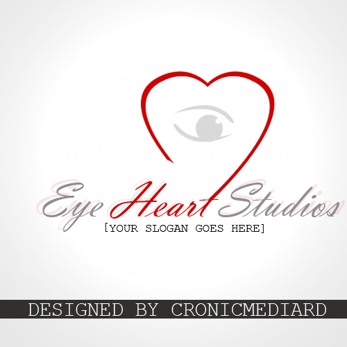 Logo Design by Christopher Restituyo - Entry No. 19 in the Logo Design Contest Unique Logo Design Wanted for Eye Heart Studios.
