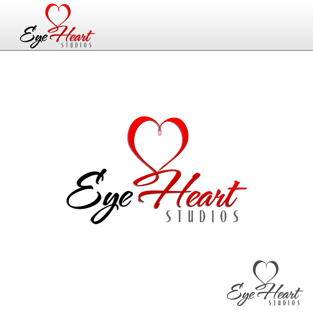 Logo Design by rockin - Entry No. 20 in the Logo Design Contest Unique Logo Design Wanted for Eye Heart Studios.