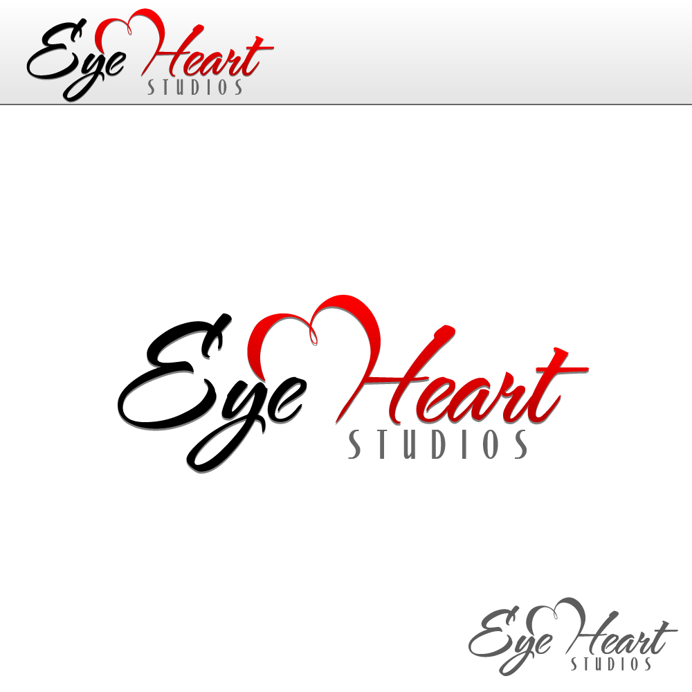 Logo Design by rockin - Entry No. 21 in the Logo Design Contest Unique Logo Design Wanted for Eye Heart Studios.