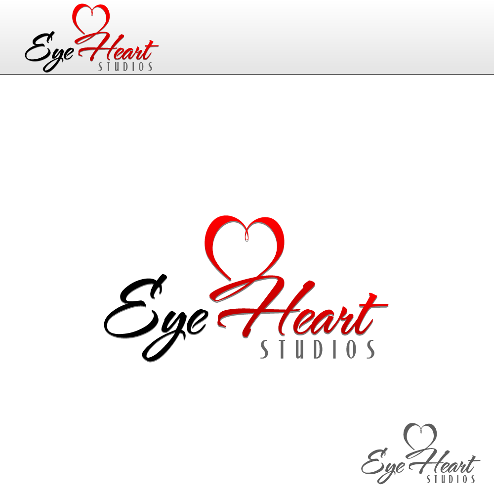 Logo Design by rockin - Entry No. 22 in the Logo Design Contest Unique Logo Design Wanted for Eye Heart Studios.