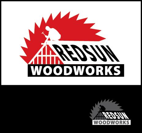 Logo Design by Arun Prasad - Entry No. 142 in the Logo Design Contest Red Sun Woodworking Logo Design.