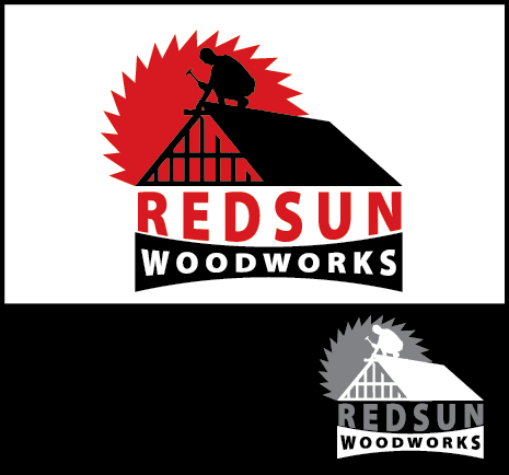Logo Design by Arun Prasad - Entry No. 144 in the Logo Design Contest Red Sun Woodworking Logo Design.