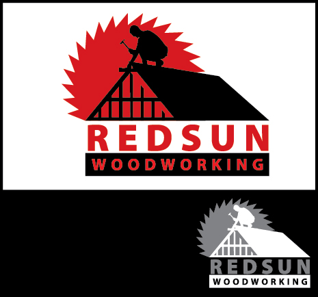 Logo Design by Arun Prasad - Entry No. 147 in the Logo Design Contest Red Sun Woodworking Logo Design.