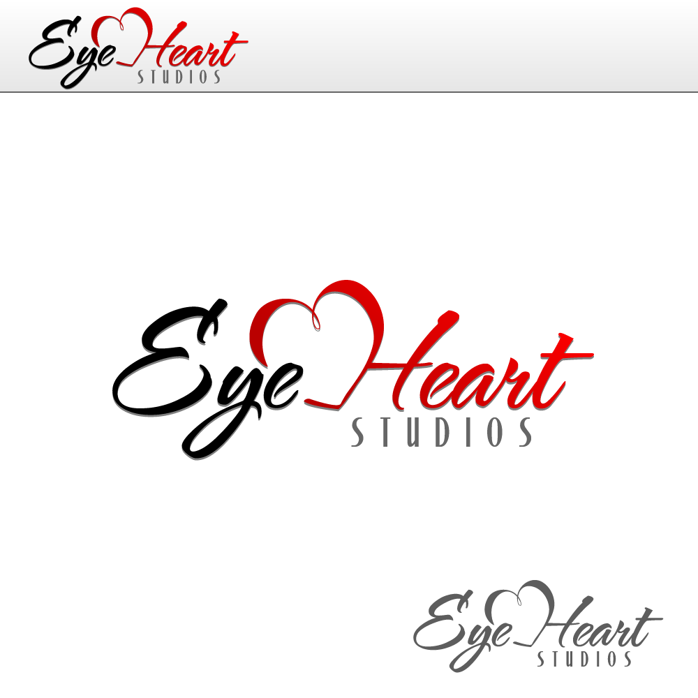 Logo Design by rockin - Entry No. 25 in the Logo Design Contest Unique Logo Design Wanted for Eye Heart Studios.