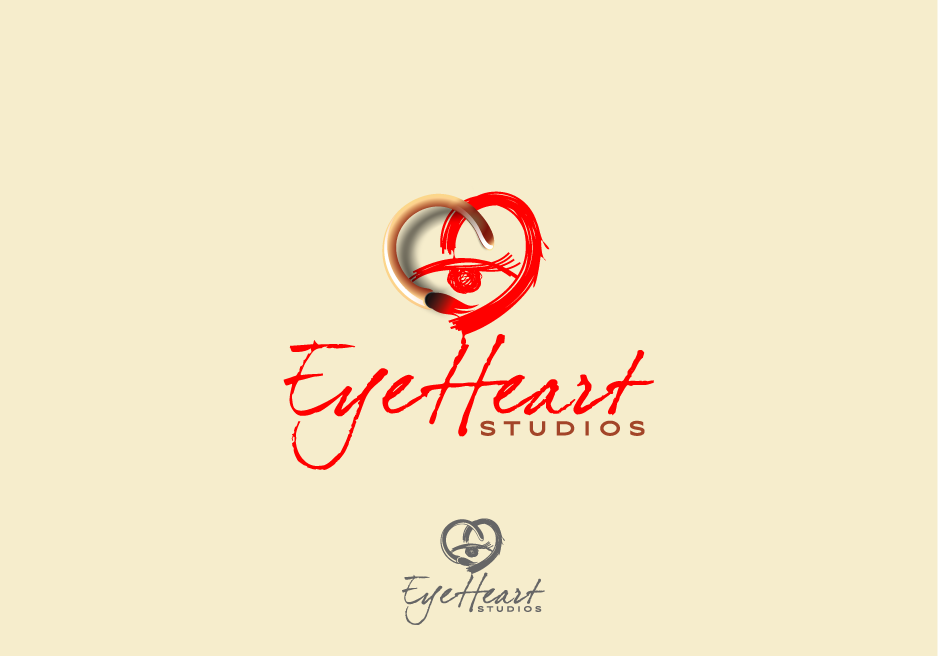 Logo Design by Muhammad Nasrul chasib - Entry No. 28 in the Logo Design Contest Unique Logo Design Wanted for Eye Heart Studios.