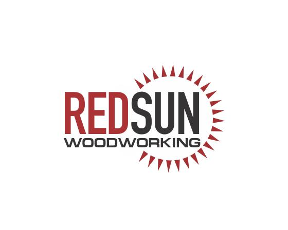 Logo Design by ronny - Entry No. 170 in the Logo Design Contest Red Sun Woodworking Logo Design.
