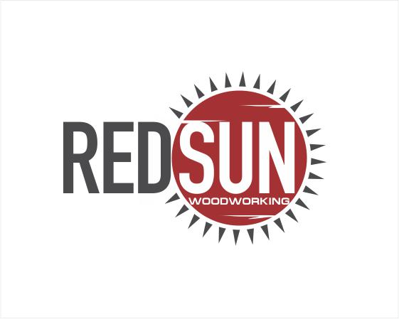 Logo Design by ronny - Entry No. 171 in the Logo Design Contest Red Sun Woodworking Logo Design.