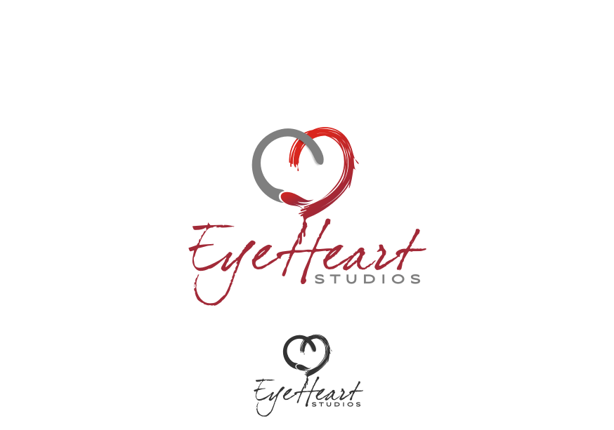 Logo Design by graphicleaf - Entry No. 34 in the Logo Design Contest Unique Logo Design Wanted for Eye Heart Studios.