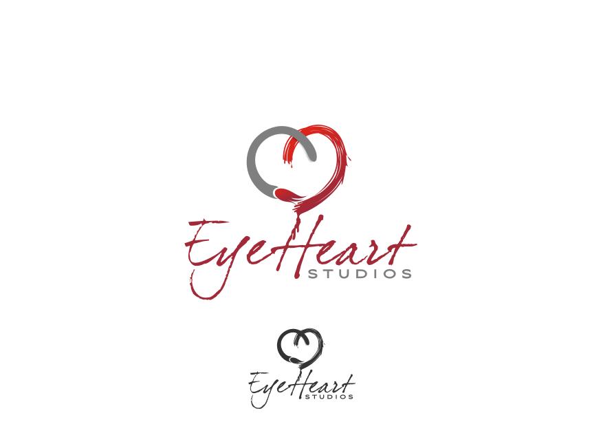 Logo Design by Muhammad Nasrul chasib - Entry No. 34 in the Logo Design Contest Unique Logo Design Wanted for Eye Heart Studios.