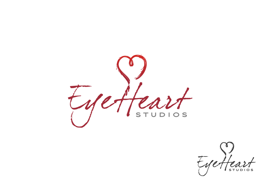 Logo Design by graphicleaf - Entry No. 37 in the Logo Design Contest Unique Logo Design Wanted for Eye Heart Studios.