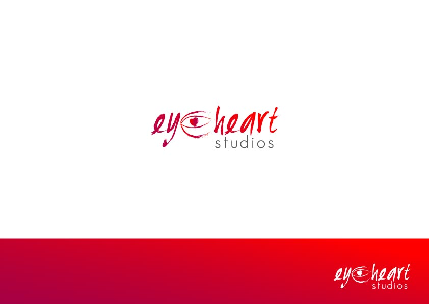 Logo Design by Osi Indra - Entry No. 39 in the Logo Design Contest Unique Logo Design Wanted for Eye Heart Studios.