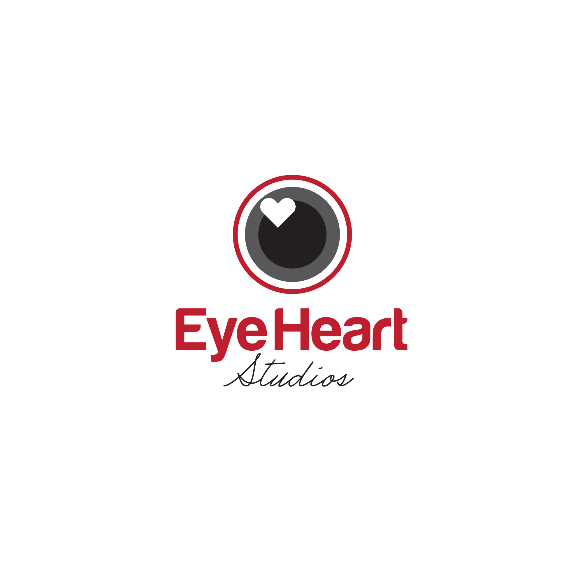 Logo Design by Mrs Suhartini - Entry No. 43 in the Logo Design Contest Unique Logo Design Wanted for Eye Heart Studios.