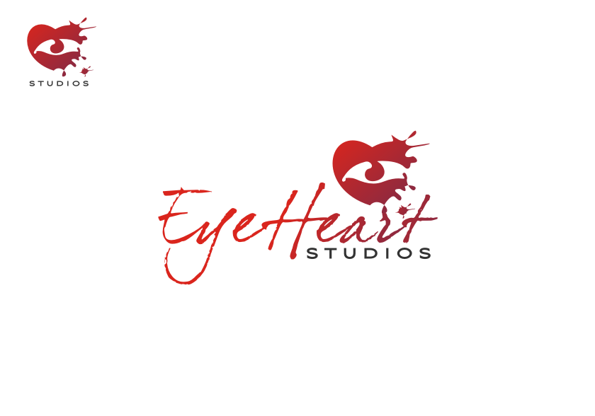 Logo Design by graphicleaf - Entry No. 58 in the Logo Design Contest Unique Logo Design Wanted for Eye Heart Studios.