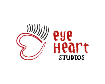 Logo Design by Rudy - Entry No. 62 in the Logo Design Contest Unique Logo Design Wanted for Eye Heart Studios.