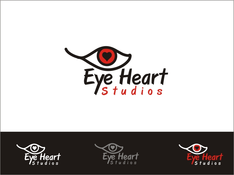Logo Design by RED HORSE design studio - Entry No. 66 in the Logo Design Contest Unique Logo Design Wanted for Eye Heart Studios.