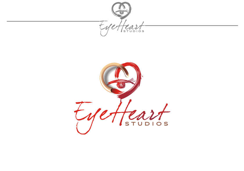 Logo Design by graphicleaf - Entry No. 68 in the Logo Design Contest Unique Logo Design Wanted for Eye Heart Studios.