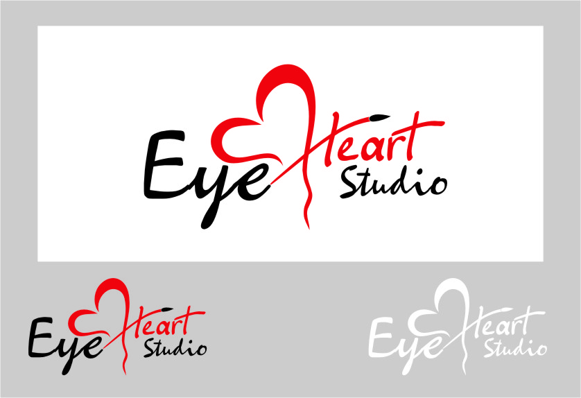 Logo Design by Ngepet_art - Entry No. 72 in the Logo Design Contest Unique Logo Design Wanted for Eye Heart Studios.