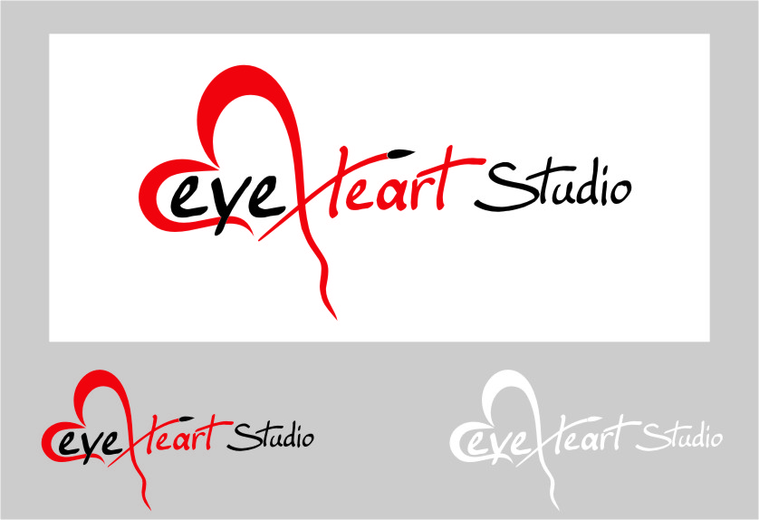 Logo Design by RasYa Muhammad Athaya - Entry No. 73 in the Logo Design Contest Unique Logo Design Wanted for Eye Heart Studios.