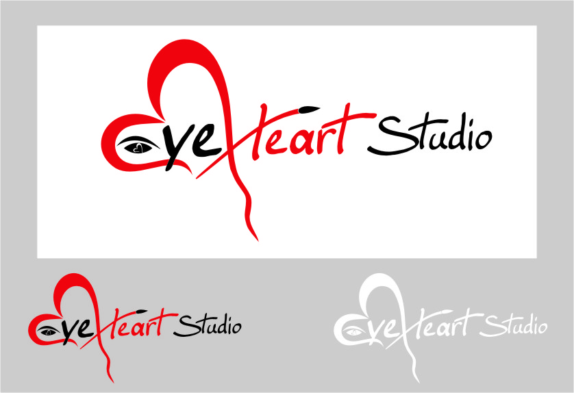 Logo Design by Ngepet_art - Entry No. 74 in the Logo Design Contest Unique Logo Design Wanted for Eye Heart Studios.