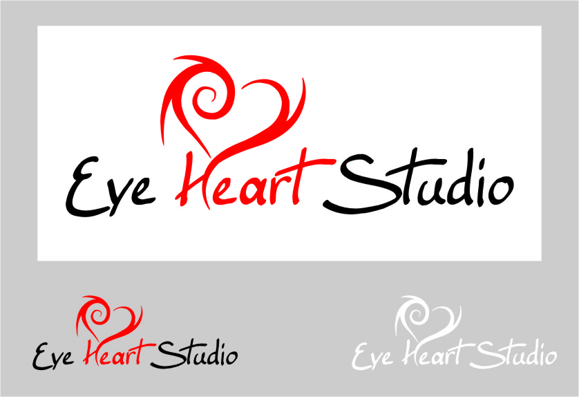 Logo Design by Ngepet_art - Entry No. 77 in the Logo Design Contest Unique Logo Design Wanted for Eye Heart Studios.