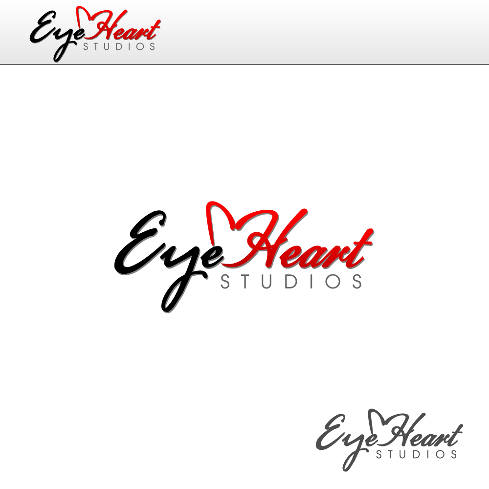 Logo Design by rockin - Entry No. 78 in the Logo Design Contest Unique Logo Design Wanted for Eye Heart Studios.