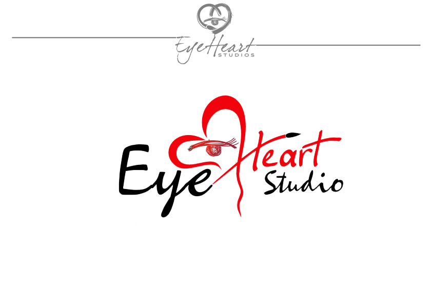 Logo Design by Tharuka Kannangara - Entry No. 79 in the Logo Design Contest Unique Logo Design Wanted for Eye Heart Studios.