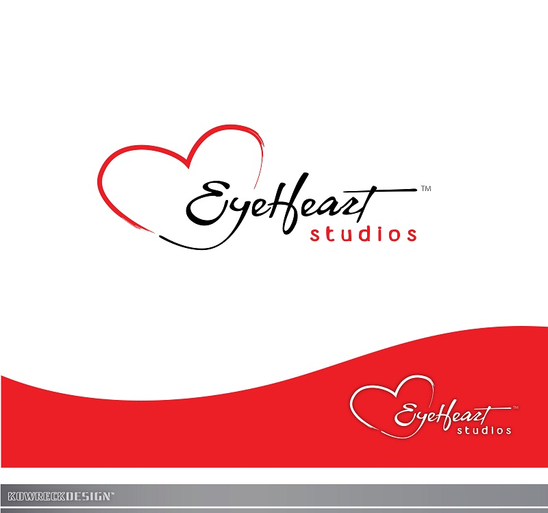 Logo Design by kowreck - Entry No. 81 in the Logo Design Contest Unique Logo Design Wanted for Eye Heart Studios.