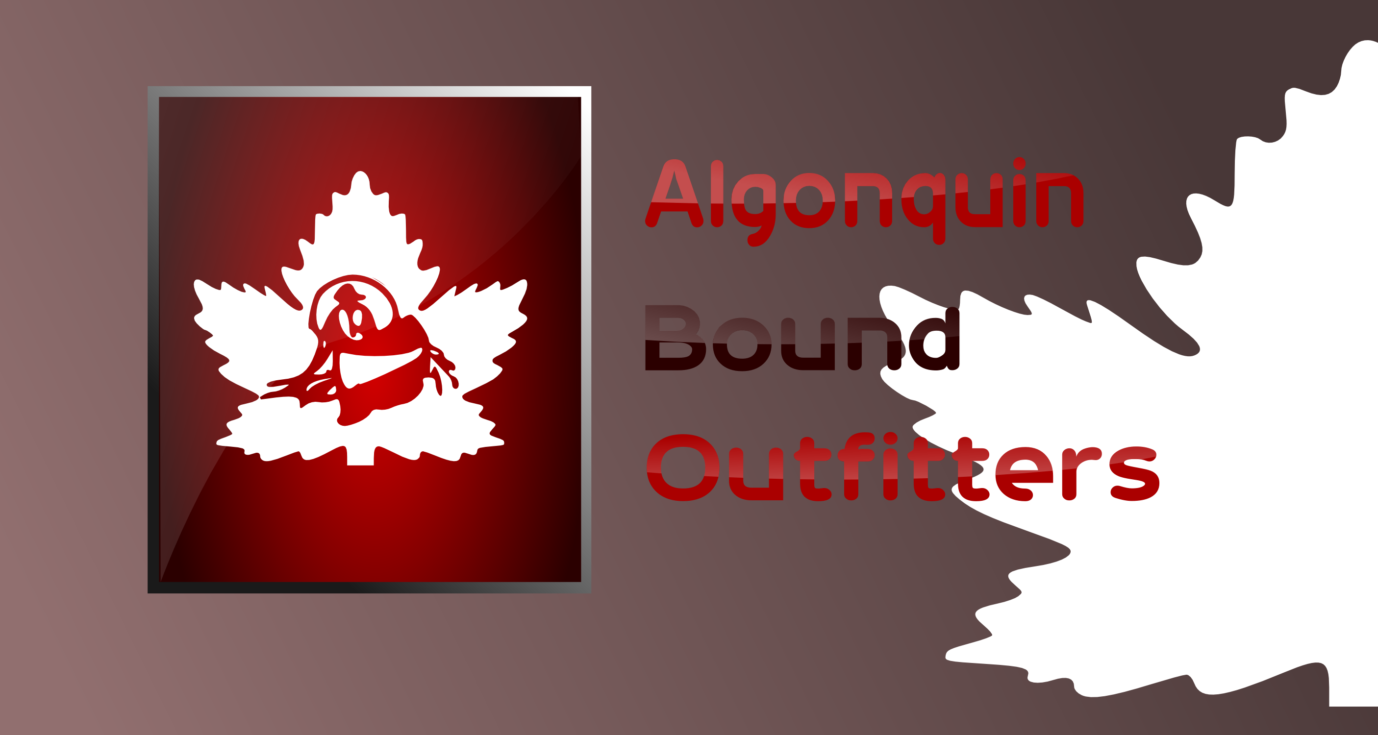 Logo Design by Arindam Khanda - Entry No. 13 in the Logo Design Contest Captivating Logo Design for Algonquin Bound Outfitters.