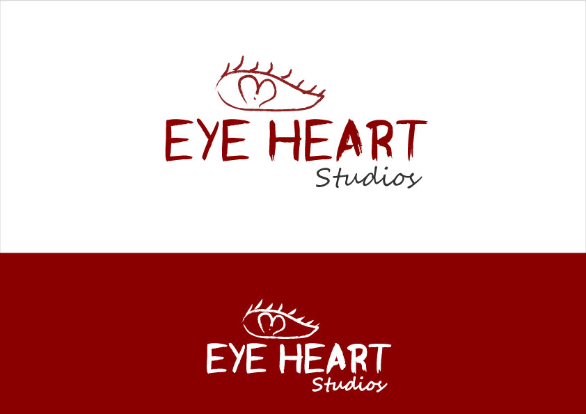 Logo Design by Kausar Jahan - Entry No. 82 in the Logo Design Contest Unique Logo Design Wanted for Eye Heart Studios.