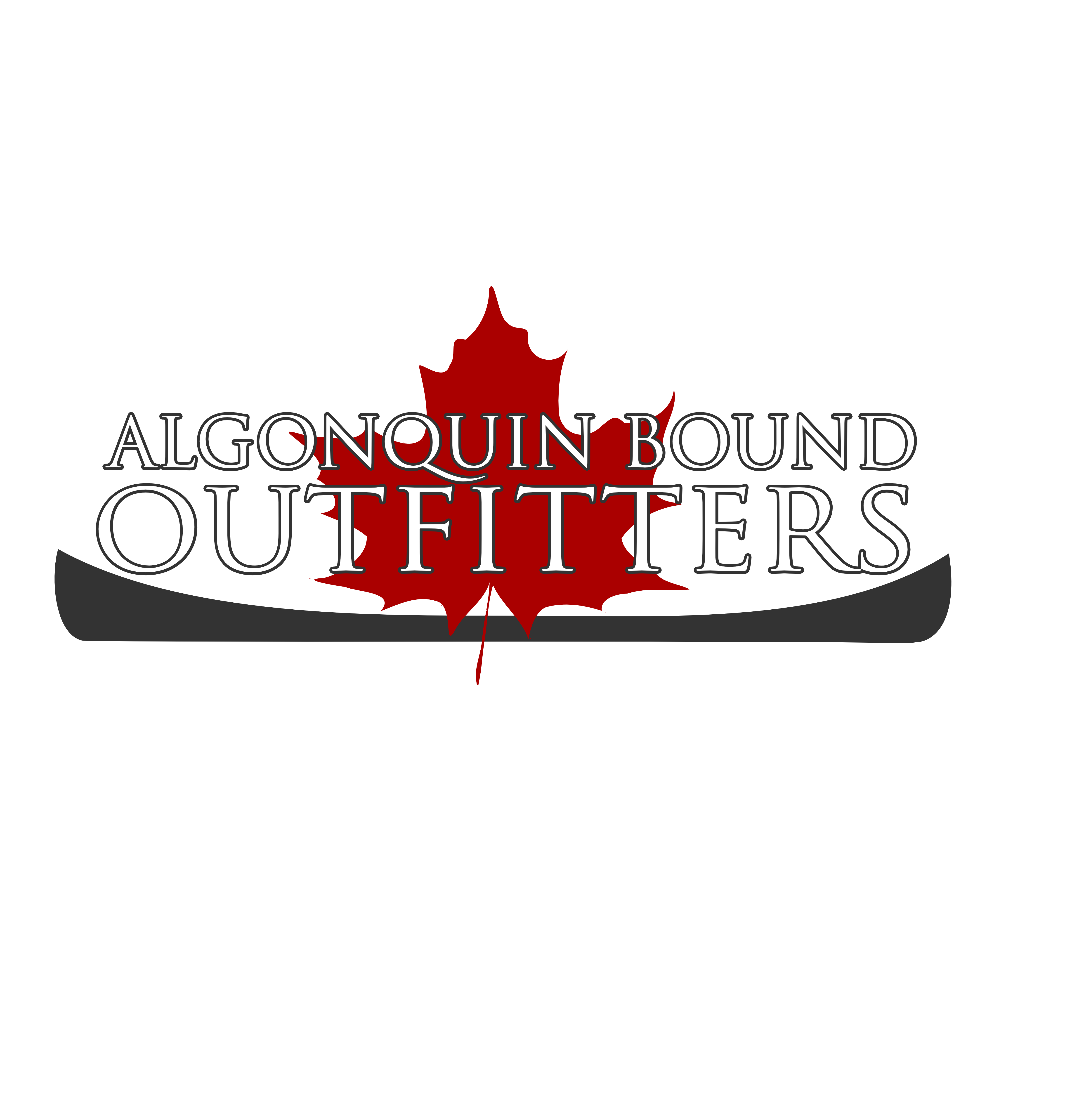 Logo Design by Andrew Bertram - Entry No. 22 in the Logo Design Contest Captivating Logo Design for Algonquin Bound Outfitters.