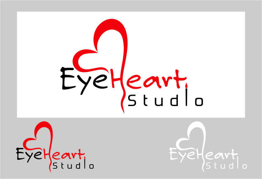 Logo Design by Ngepet_art - Entry No. 84 in the Logo Design Contest Unique Logo Design Wanted for Eye Heart Studios.