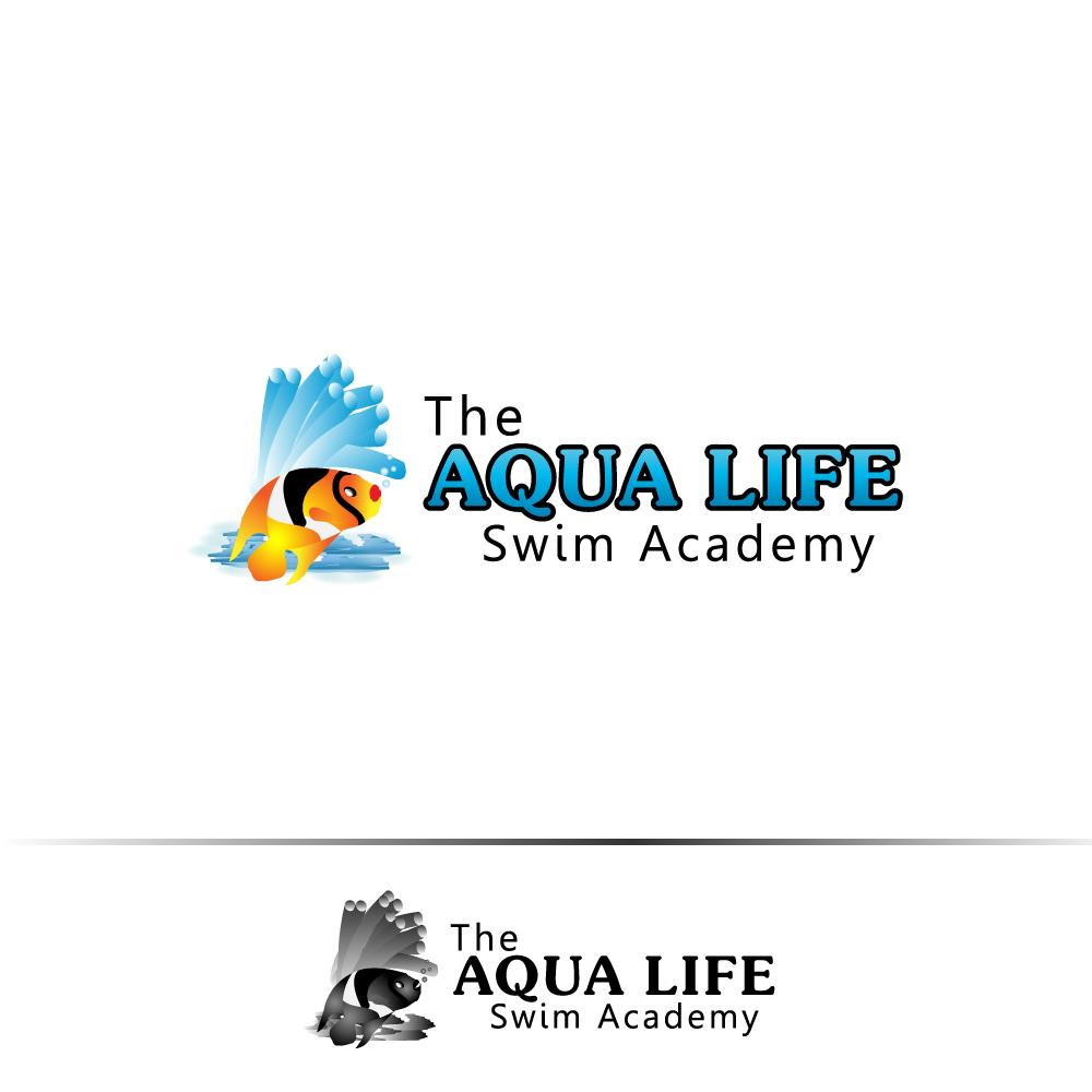 Logo Design by rockin - Entry No. 4 in the Logo Design Contest Artistic Logo Design Wanted for The Aqua Life Swim Academy.