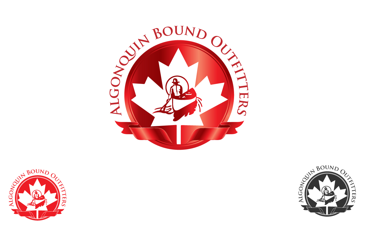 Logo Design by Jagdeep Singh - Entry No. 33 in the Logo Design Contest Captivating Logo Design for Algonquin Bound Outfitters.