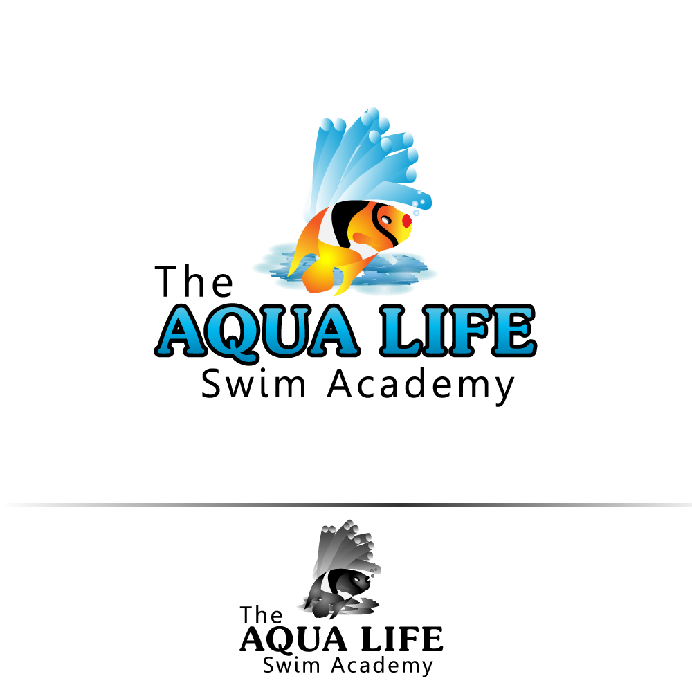 Logo Design by rockin - Entry No. 5 in the Logo Design Contest Artistic Logo Design Wanted for The Aqua Life Swim Academy.