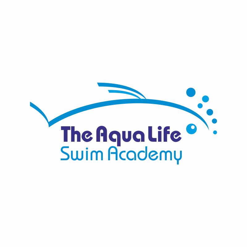 Logo Design by montoshlall - Entry No. 6 in the Logo Design Contest Artistic Logo Design Wanted for The Aqua Life Swim Academy.