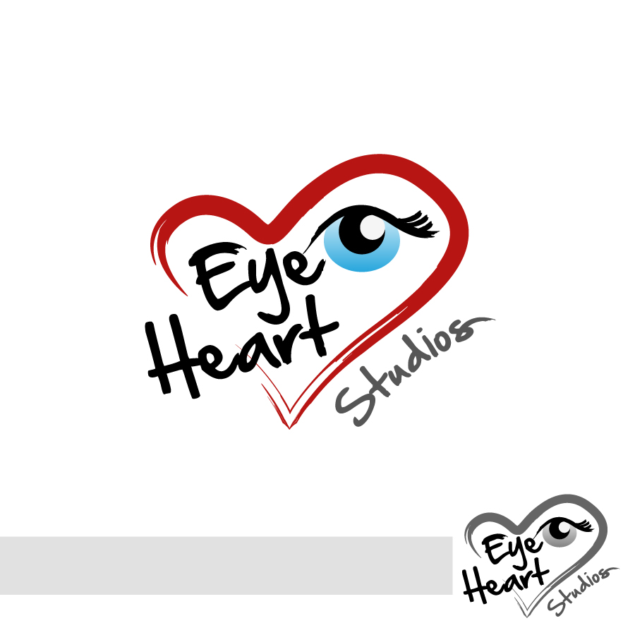 Logo Design by Edward Goodwin - Entry No. 90 in the Logo Design Contest Unique Logo Design Wanted for Eye Heart Studios.