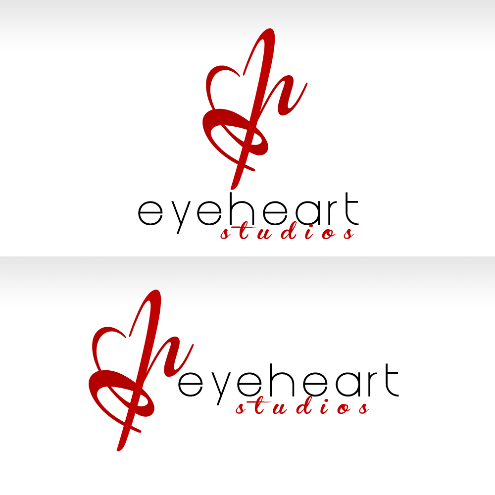 Logo Design by Kenneth Joel - Entry No. 91 in the Logo Design Contest Unique Logo Design Wanted for Eye Heart Studios.