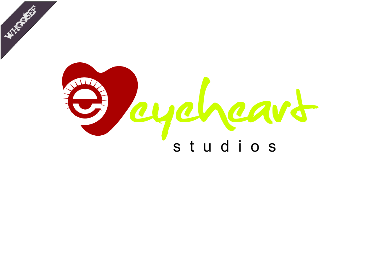 Logo Design by whoosef - Entry No. 92 in the Logo Design Contest Unique Logo Design Wanted for Eye Heart Studios.