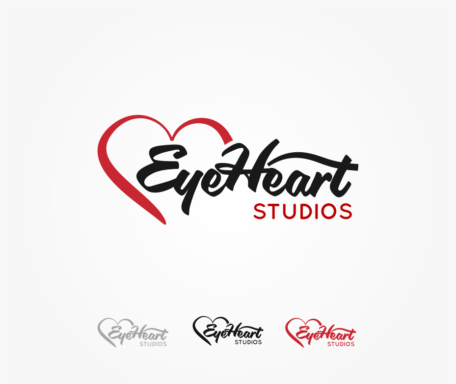 Logo Design by Jorge Sardon - Entry No. 93 in the Logo Design Contest Unique Logo Design Wanted for Eye Heart Studios.