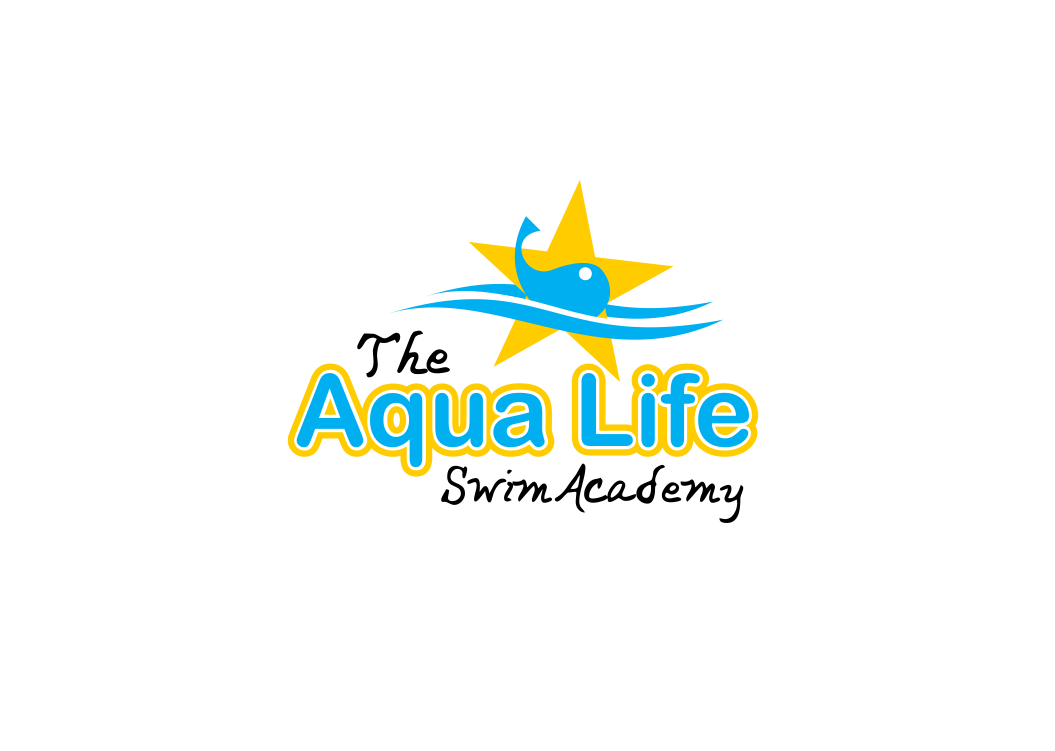 Logo Design by Private User - Entry No. 7 in the Logo Design Contest Artistic Logo Design Wanted for The Aqua Life Swim Academy.