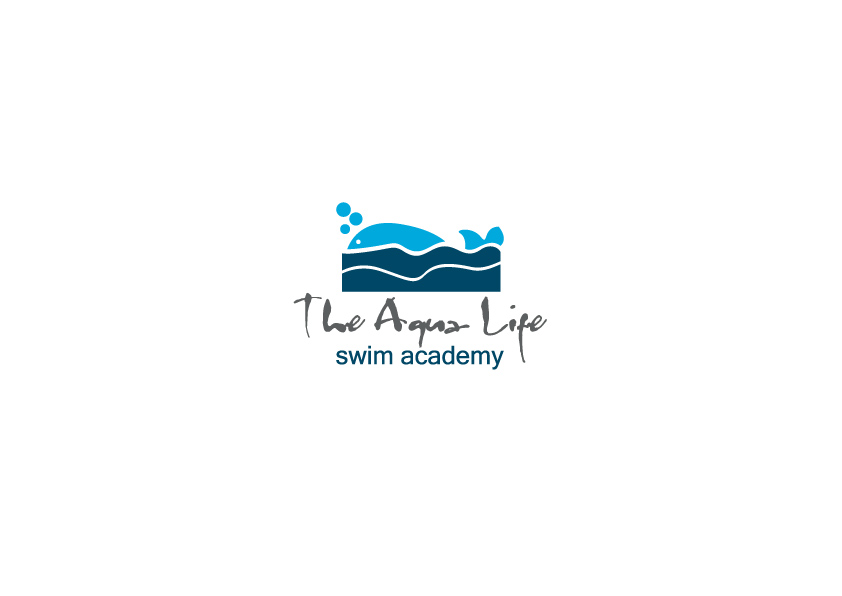 Logo Design by Osi Indra - Entry No. 10 in the Logo Design Contest Artistic Logo Design Wanted for The Aqua Life Swim Academy.