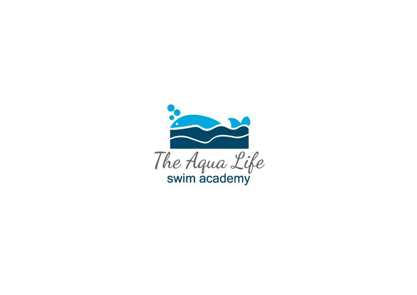 Logo Design by Osi Indra - Entry No. 13 in the Logo Design Contest Artistic Logo Design Wanted for The Aqua Life Swim Academy.