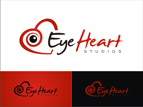 Logo Design by key - Entry No. 98 in the Logo Design Contest Unique Logo Design Wanted for Eye Heart Studios.