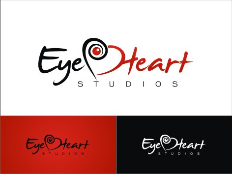Logo Design by key - Entry No. 102 in the Logo Design Contest Unique Logo Design Wanted for Eye Heart Studios.