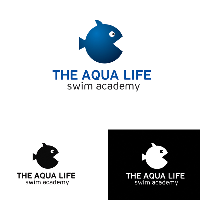 Logo Design by Dimitris Koletsis - Entry No. 18 in the Logo Design Contest Artistic Logo Design Wanted for The Aqua Life Swim Academy.
