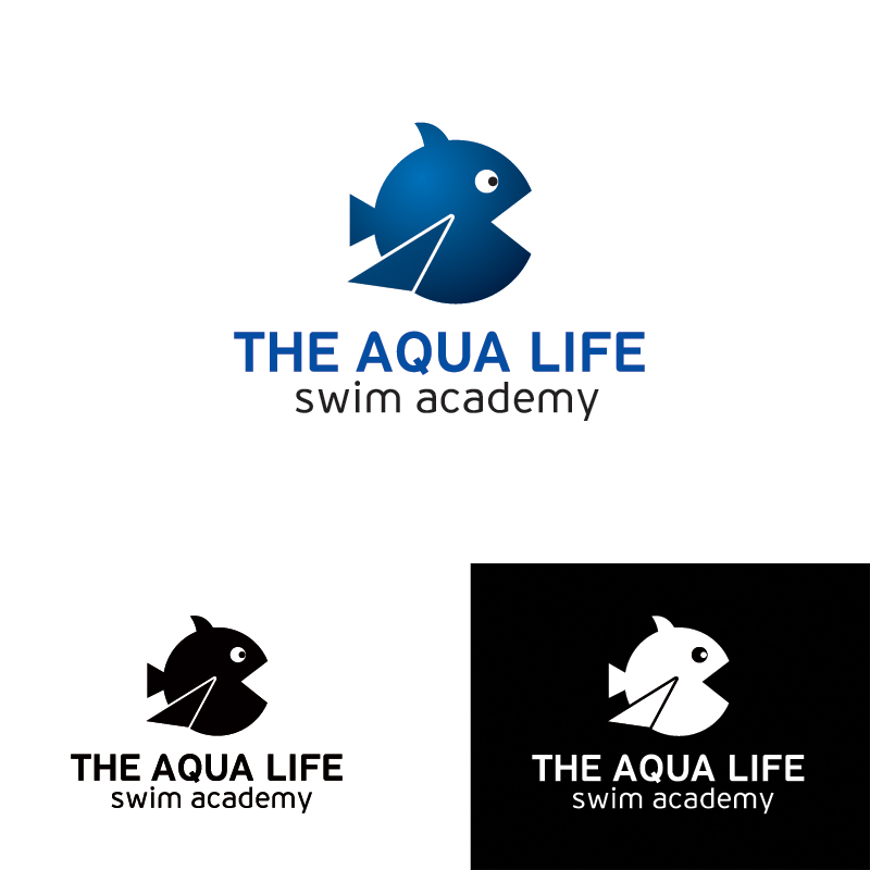 Logo Design by Dimitris Koletsis - Entry No. 20 in the Logo Design Contest Artistic Logo Design Wanted for The Aqua Life Swim Academy.