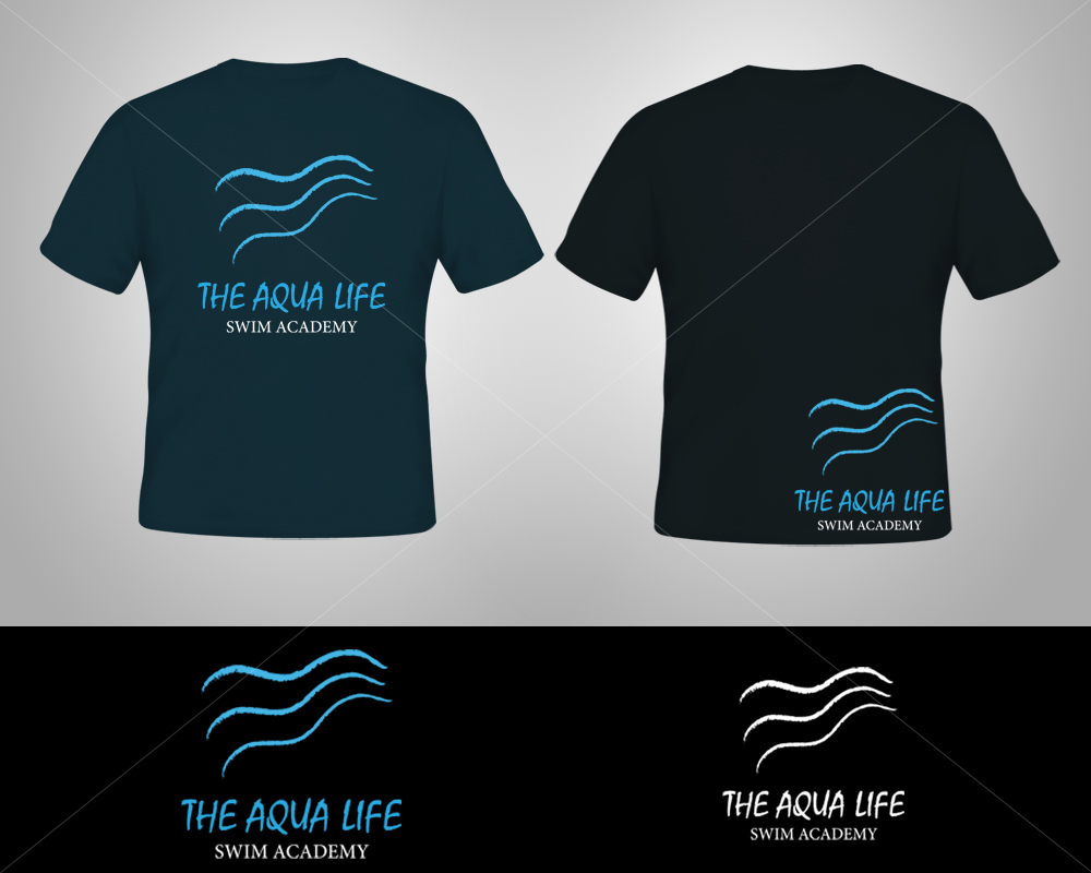 Logo Design by Butz Udy - Entry No. 26 in the Logo Design Contest Artistic Logo Design Wanted for The Aqua Life Swim Academy.
